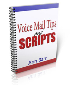 Voice Mail Tips and Scripts